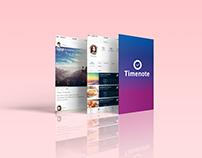 Timenote | UX/UI & Branding