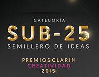 Premios Clarín Creatividad 2015: Categoría SUB25
