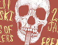 Brett Newski, Sons of Settlers & Riders Connect Poster