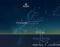 Stargazing application for iPad