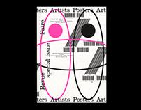 revue faire 22: Artists Posters