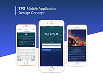 TPS Mobile App Concept