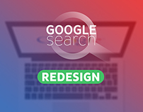 Redesign Google Search | Flat Design