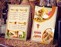 Zooba menu
