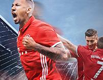 Website FC BAYERN MÜNCHEN x HYPOVEREINSBANK