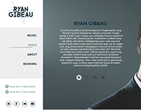 Ryan Gibeau Website Design