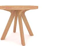 Lazer Cut Commercial Furniture Study