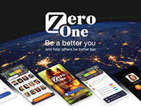 ZeroOne - mobile app UI/UX