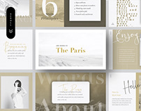 PARIS - Free Keynote & Powerpoint Presentation Template