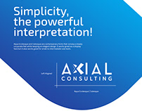 Axial Consulting Brand Concept
