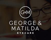 George & Matilda Eyecare Website
