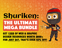 Shuriken - The Ultimate Mega Bundle!