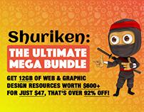 Shuriken - The Ultimate Mega Bundle!