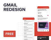Free sketch — Gmail Redesign Concept
