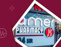 Amer Pharmacies - Social Media Designs
