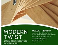 Modern Twist - Joshua Till - Exhibition Branding - MCDC