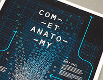 Comet Anatomy Poster