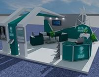 Saudi Modon booth 6x6