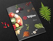 "Photo & menu design for restaurant ""Torne"""