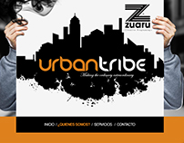 Urban Tribe Website (Design & Devellopment)