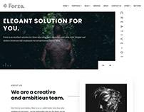 Forzo – Portfolio Agency WordPress Theme