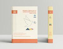 Régimen Jurídico de la JEP / Editorial Design