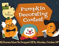Pumpkin Decorating Contest Marketing