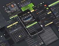Bookmaker company UI/UX Design