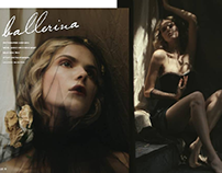 OUT ON VOLITION MAGAZINE  hair and makeup by me