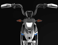 ADVENTURE-Electric Scooter Head Design