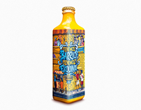 """""""Botella con esquina"""". Cerveza Cristal."""
