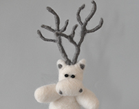 Christmas Deer-Character Design