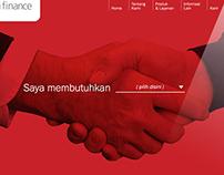 SGfinance - Corporate Identity & Website