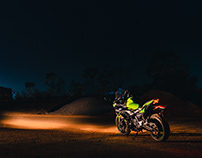Kawasaki Ninja 650 | By Sourav Mishra