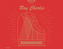 Ray Charles Poster for ATL Collective