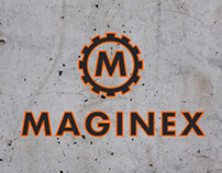 Identyfikacja wizualna dla firmy Maginex. Wrocław. 2014