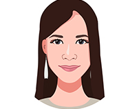 My experience in creating vector portraits