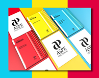 """ASPE"" Editorial / Graphic line / Books Design"