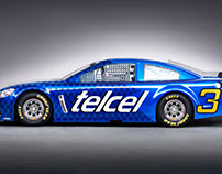 Design Nascar Car - Telcel