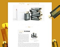 Perfume Website Design