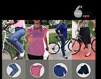 Vestuário Feminino para Ciclistas