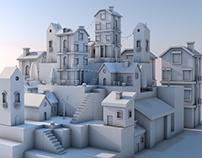 SNOW CITY // 3D