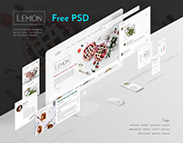 Free PSD, Lemon UI KITS