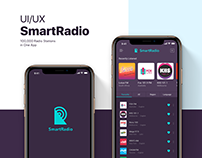 UI/UX/Interaction Design for Online Radio Mobile App