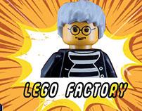 Andy Warhol Lego