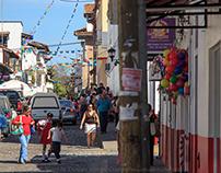 The Streets of Puerto Vallarta, Mexico, 2015