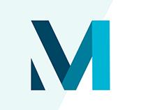 Recomatics logo design