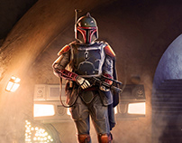 Boba Fett, fan art cover illustration