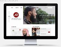 Dr. Abdullah Al Qefari Website Design