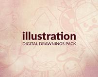 Illustration | Digital Drawning Pack